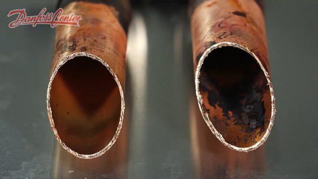 اثر عدم استفاده از گاز محافظ